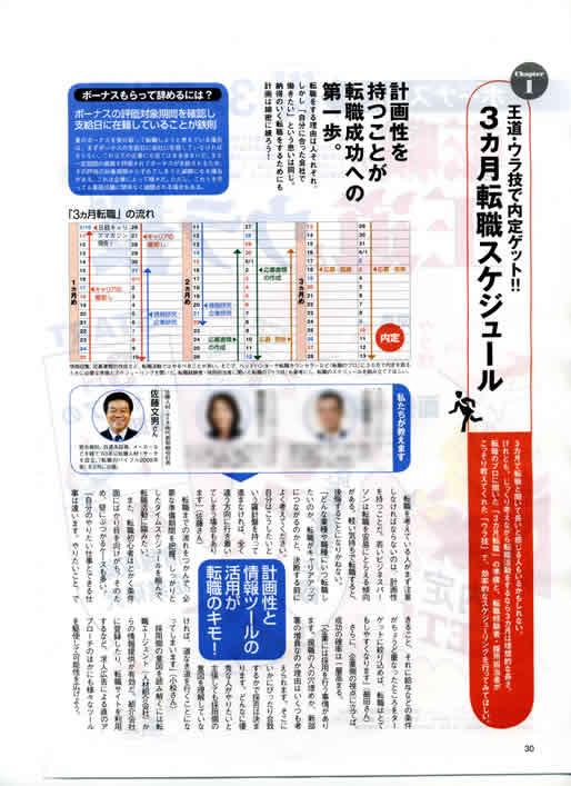 2007年3月10日発売号 日経キャリアマガジン(日経HR) 掲載記事